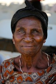 Woman from Ghana
