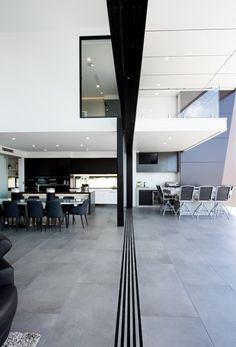 Bribie Contemporary by Robin Payne Building Design 04 - MyHouseIdea First Home Buyer, Outdoor Flooring, Interior Decorating, Interior Design, Building Design, Modern Decor, Home Projects, Interior Architecture, Living Room Designs