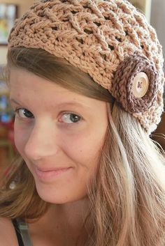 elise hat crochet pattern