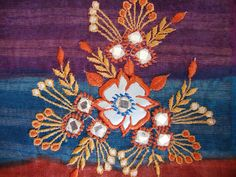 Trinkets and Allegories: Shisha Embroidery 2: Some Images