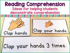 Deomstrating reading comprehension can be very challenging for special education students. Here are ideas for targeting functional reading comprehension skills.