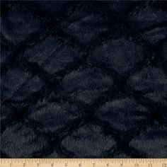 Minky Soft Lattice Cuddle Navy from @fabricdotcom  This soft and quatrefoil textured Cuddle plush minky has a silky soft embossed surface and 10mm pile. Fabric is perfect for apparel accents, blankets, throws, pillows, baby accessories, stuffed animals and more!