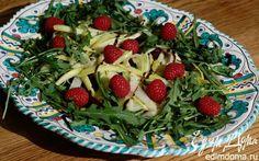 Весенний салат с молодой свеклой, орехами и малиной | Кулинарные рецепты от «Едим дома!»