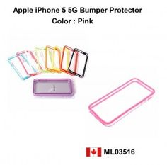 Protect your iPhone 5 with a bumper. Aluminum frame of the iPhone 5 is delicate so why not protect it from scratches.    Price = $12.50