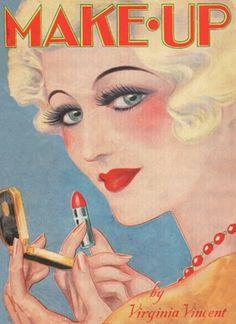 1932 makeup guide. GlamourDaze