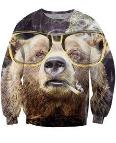 Bearly High Crewneck Sweatshirt