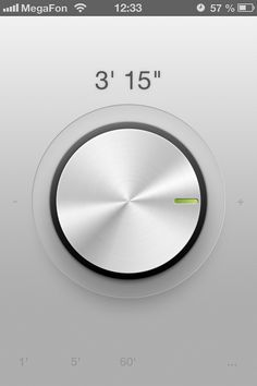 #UI #design #dial #app #interface