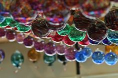hanging witch balls by Ardent Eye, via Flickr