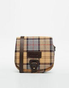 Barbour Alder Tartan Messenger Bag