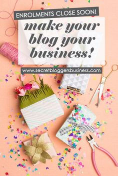 The Secret Bloggers Business Bootcamp enrollments are closing soon!!! If you want to learn how to turn your blog into a 6-figure business (by someone whose done it!) then click here >> http://www.secretbloggersbusiness.com/membership-account/enroll-now/ blogging, blog tips, start a blog, blog traffic, blog ideas