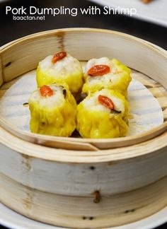Pork Dumpling with Shrimp - RM10.80