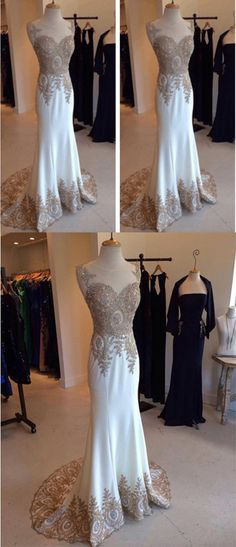 Custom Made Charming Wedding Dresses,Long Wedding Dresses,Wedding Dresses On Sale, from Tidedress Prom Gowns, Prom Party Dresses, Ball Dresses, Evening Dresses, Formal Dresses, Long Sleeve Bridal Dresses, Wedding Dresses For Sale, Dress Long, Mermaid Gown Prom