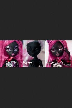 Monster High Catty Noir redo.