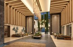 Discover our beautiful lobby at Haven Riviera Cancun.