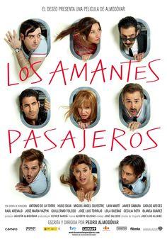 """""""Los amantes pasajeros"""" un film de Almodóvar , con Hugo Silva y Miguel Ángel Silvestre entre otros, pronto la podremos ver en el cine de Huetor Tajar"""