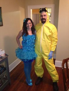 Blue Meth and Walter White