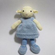Toy knitting pattern for an elephant in a textured sweater inches tall) Knitting Patterns, Crochet Patterns, Little Cotton Rabbits, Bear Pictures, Mini One, Thick Yarn, Dk Weight Yarn, Knit In The Round, Stuffed Animal Patterns