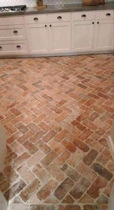 6 Top Useful Tips: Brick Flooring Transition White Floor boho.Stained Glass F . 6 Top Useful Tips: Brick Flooring Transition White Floor boho.Stained Glass F … Brick Tile Floor, Brick Floor Kitchen, Brick Flooring, Marble Floor, White Flooring, Garage Flooring, Flooring For Kitchen, Brick Wall, Brick Look Tile