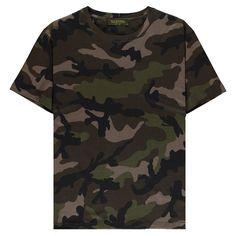Valentino Camouflage T Shirt | CRUISE
