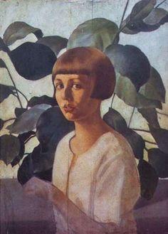 Felice Casorati, Studio per il ritratto di Renato Gualino (1922-23)