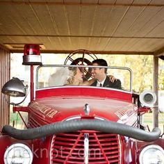 Vintage Firetruck  - sound the alarm!