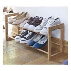 Extending Shoe Racks