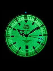 Vostok-Europe 5104245 Automatic Anchar Dive Watch with Tritium Tube Illumination
