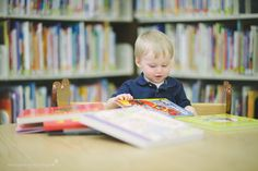 This is part ONE of a two part blog post :-) Carter turned 1 a couple months ago so we celebrated with a family session (family pics to come in part TWO!) but we wanted to do a segment of Carter's session that day in the Perquimans County Public Library.. why? For Carter's birthday party, Mom,…