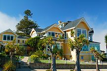 Seven Gables Inn, Pacific Grove  This was just down the street from the little cottage I lived in.