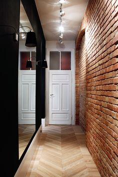 Motocultura 7 interiors on Interior Design Served Wall Design, House Design, Waterfall House, Interior Design Courses Online, Corridor Design, Decoration For Ganpati, Loft Style, Office Interiors, Home Art