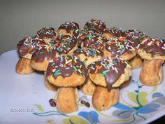 Bucataria Alynusei: Ciuperci umplute Tofu, Fondant, Pancakes, Cereal, Cheesecake, Cookies, Breakfast, Desserts, Sweets