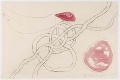 Louise Bourgeois. Untitled, plate 13 of 14, from the series, À l'infini. 2008