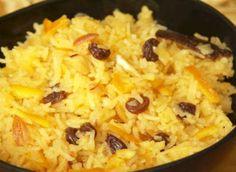 Zafrani Pulao Delicious Mughlai style Basmati rice with Saffron.