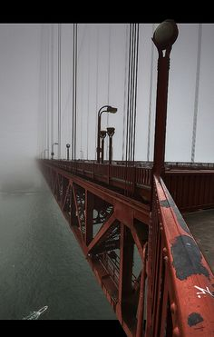 Golden Gate Bridge: You can smell, hear, feel it, right?