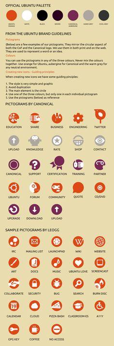 Official Ubuntu palette 2011