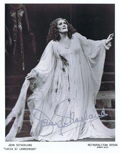 """Joan Sutherland """"Lucia Di Lammernoor"""""""