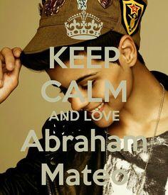 Keep calm: Abraham Mateo (01)
