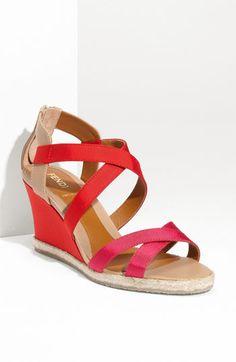 Fendi - 'Rio' Elastic Wedge Sandal