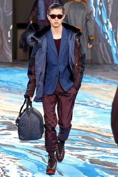 Louis Vuitton | Fall 2014 Menswear Collection | Style.com Great Colour combination