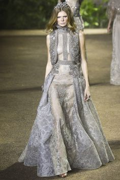 Elie Saab | Spring/Summer 2016 Couture Collection via Designer Elie Saab | Modeled by ? | Paris; January 27, 2016
