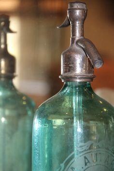 Vintage spritzer bottle from L'Isle-sur-la-Sorgue