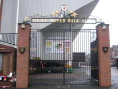 The Shankly Gates, Anfield, Liverpool Lfc Tattoo, Gates, Liverpool, Broadway Shows, Wedding, Valentines Day Weddings, Weddings, Marriage, Gate