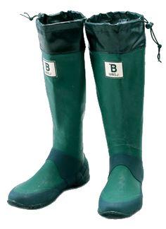 バードウォッチング長靴 グリーン
