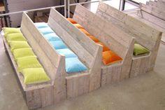 ... Eettafel Bank op Pinterest - Tafel Bankje, Eettafels en Industriële