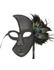 Probably my favorite masquerade mask yet.  I just wouldn't want it to cover my mouth