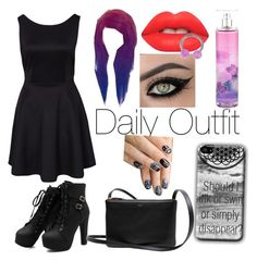 """Daily Outfit"" by blue-beat-2 ❤ liked on Polyvore featuring Lime Crime and alfa.K"