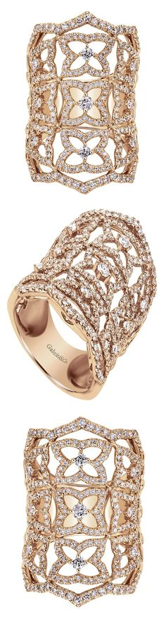 Fine jewelry / karen cox. An 18k Rose Gold Allure Ring from the Amavida Fashion Collection