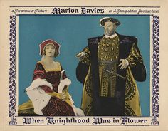 Lobby Card from film When Knighthood Was In Flower