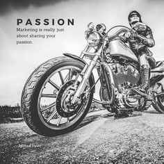 Are you marketing what you are passionate about? Lady Biker, Passion, Marketing, Quotes, Instagram, Quotations, Quote, Shut Up Quotes