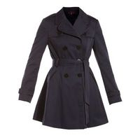 £34.99 #fashion Navy And Black Piped Trench #Coat from New Look
